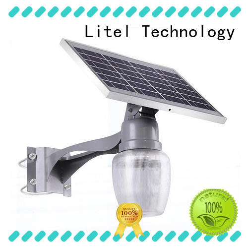 quality solar garden lights light gutter Litel Technology