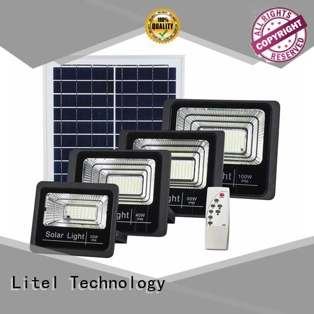 solar best outdoor solar flood lights Litel for