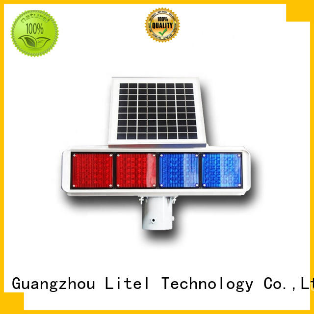 Litel Technology emergency solar traffic lights manufacturers at discount for road