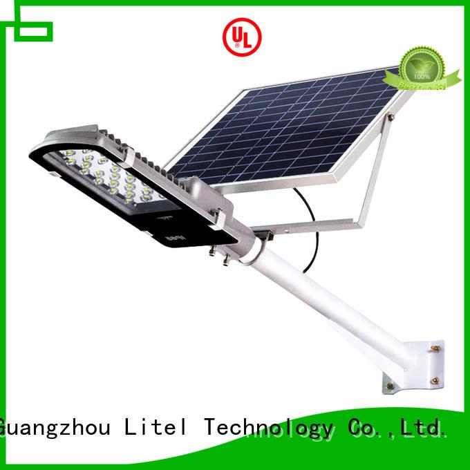Litel Technology Brand light led solar street light project manufacture