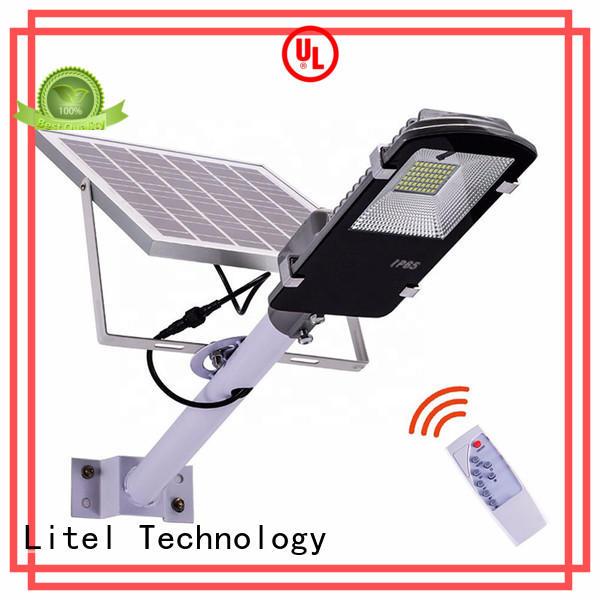 energy-saving 20w solar led street light low cost for garage Litel Technology