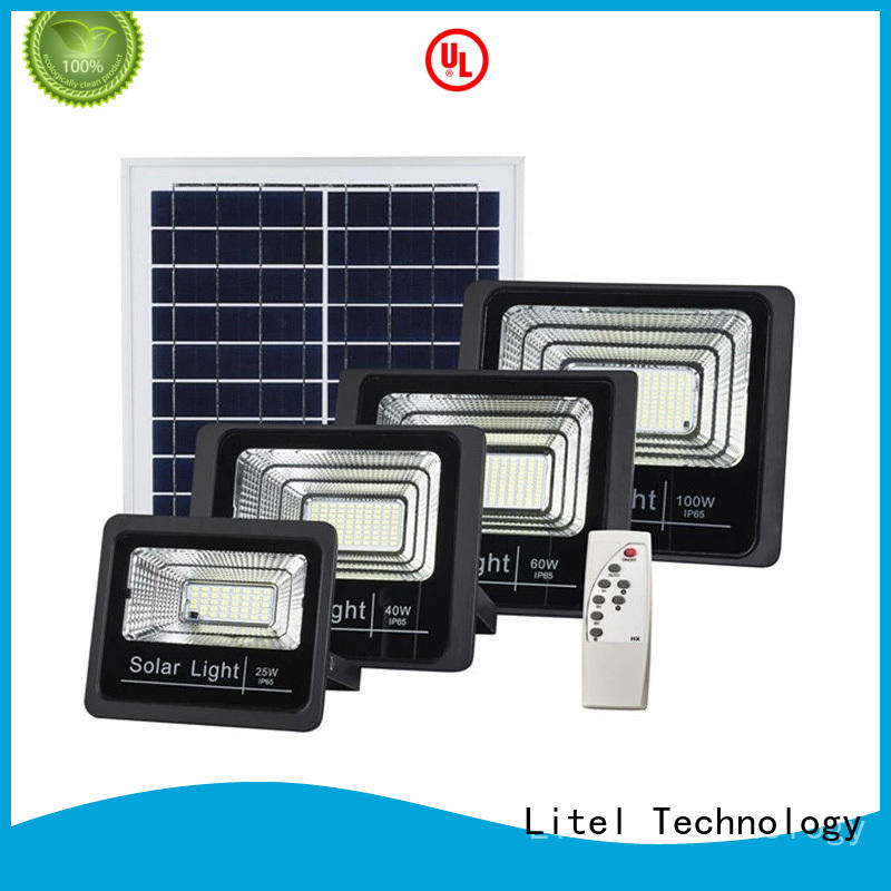 Litel Technology Brand light timer custom solar powered led flood light
