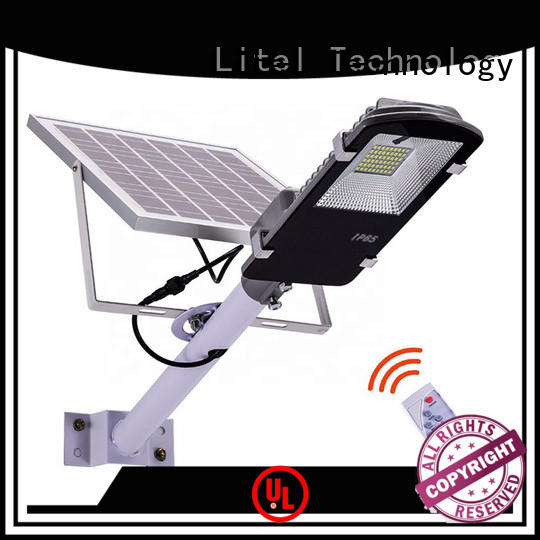 Litel Technology wall mounting solar powered led street lights easy installation for garage