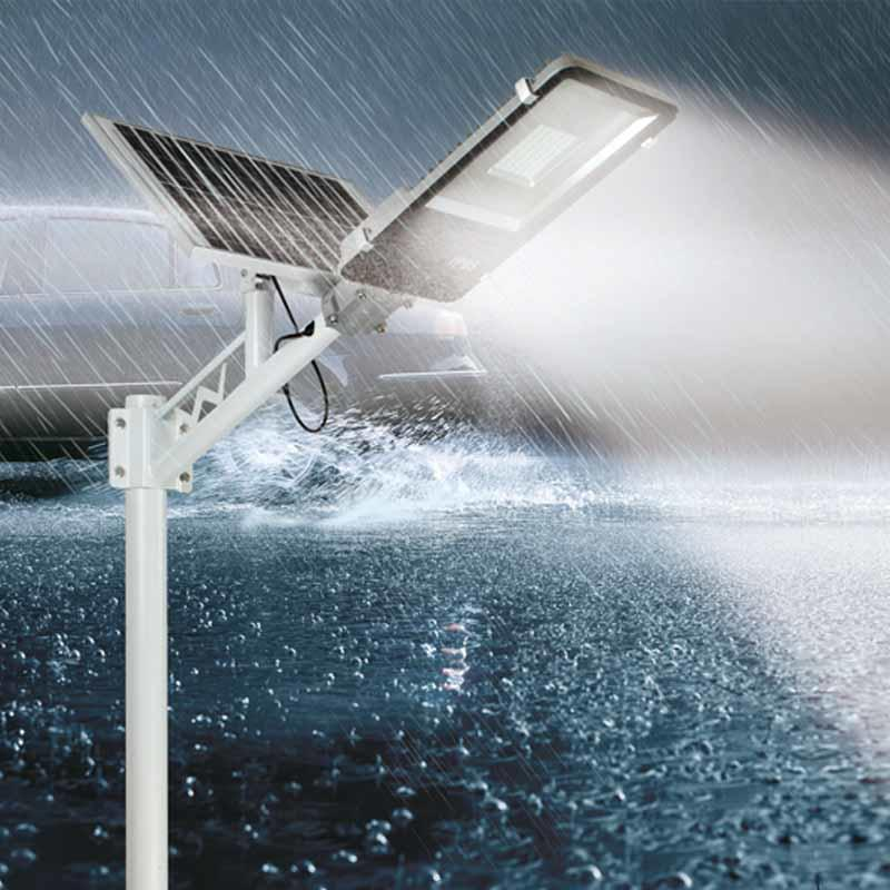 IP65 10w 20w 30w 50w 70w 100w 120w 150w 200w Light sensor and remote control solar LED street Light