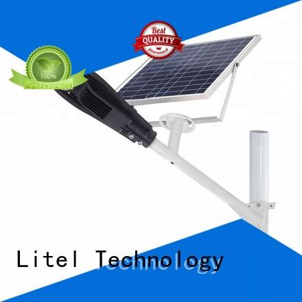 Litel Technology dim 60w solar led street light at discount for porch