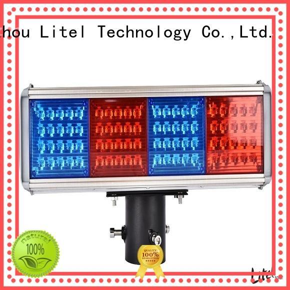 Litel Technology custom solar energy traffic lights at discount for high way