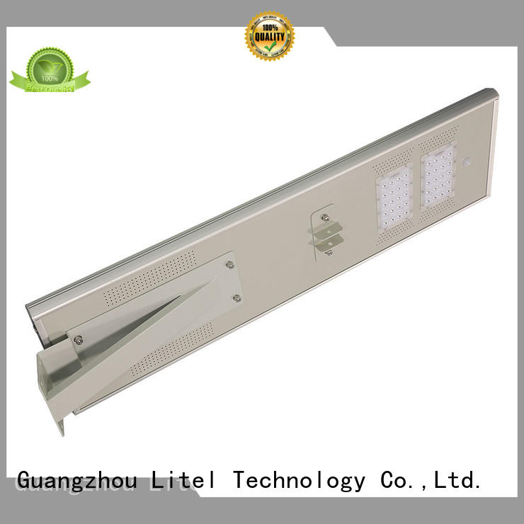 Litel Technology hot-sale integrated solar led street light light for factory