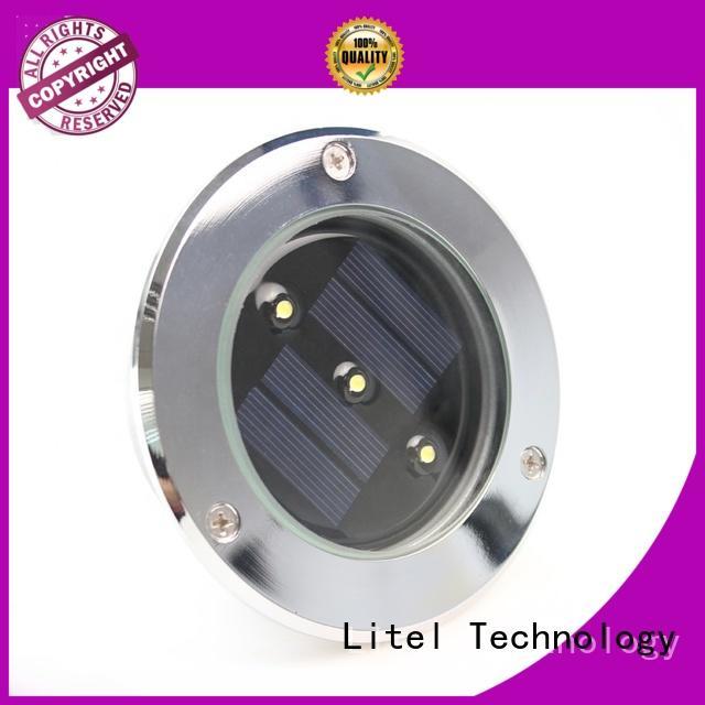 Litel Technology mounted solar led garden lights spot spot