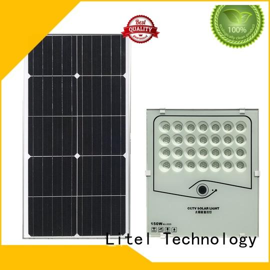 Litel Technology competitive price solar led flood light inquire now for garage