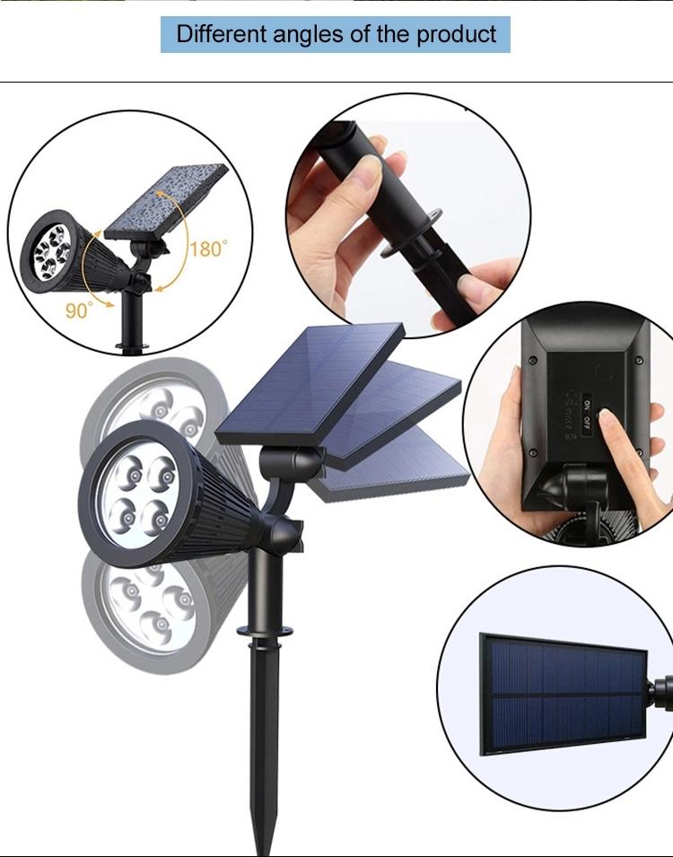 Litel Technology flame high power solar garden lights buy gutter