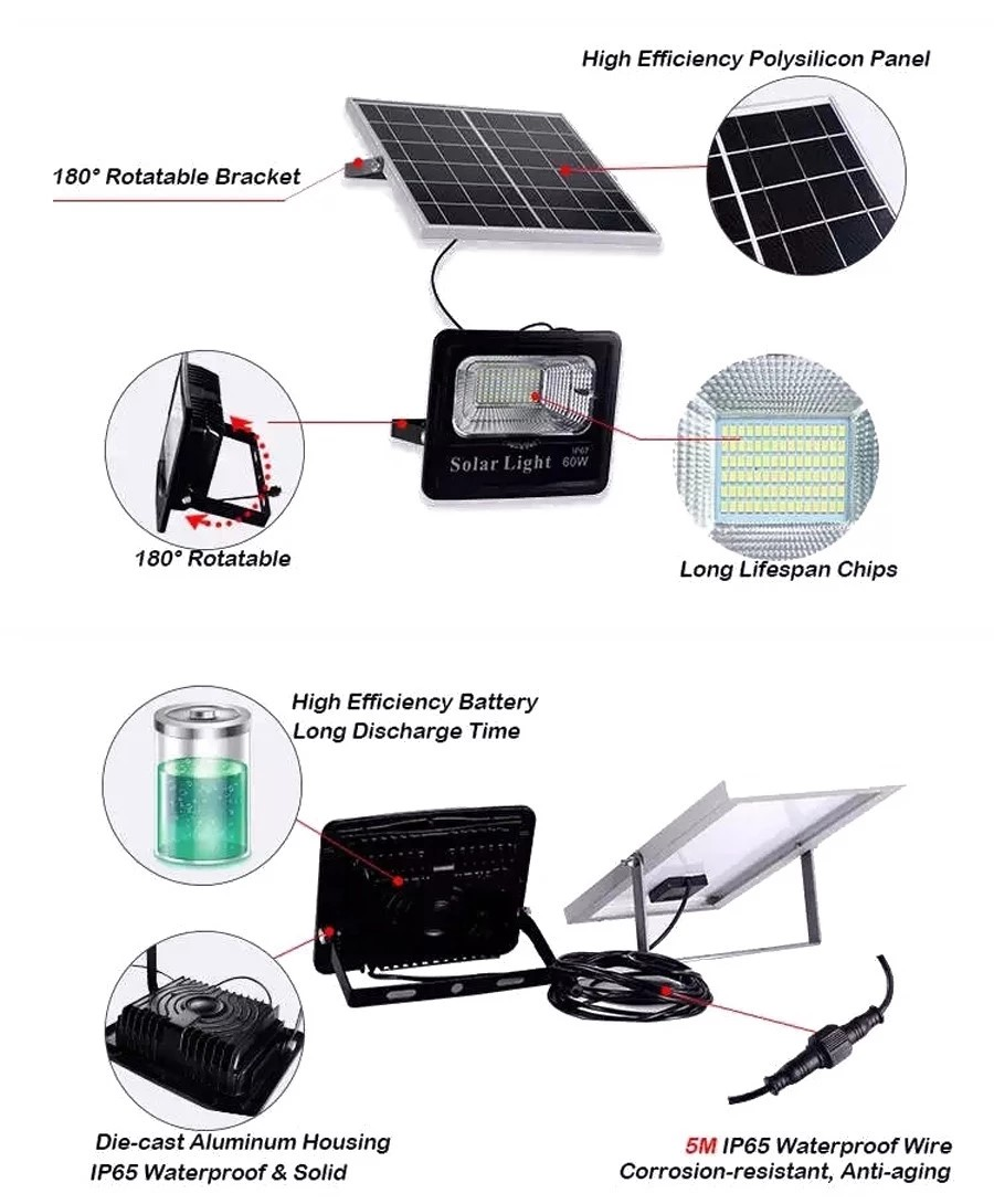 solar led flood light remote control inquire now for barn-5