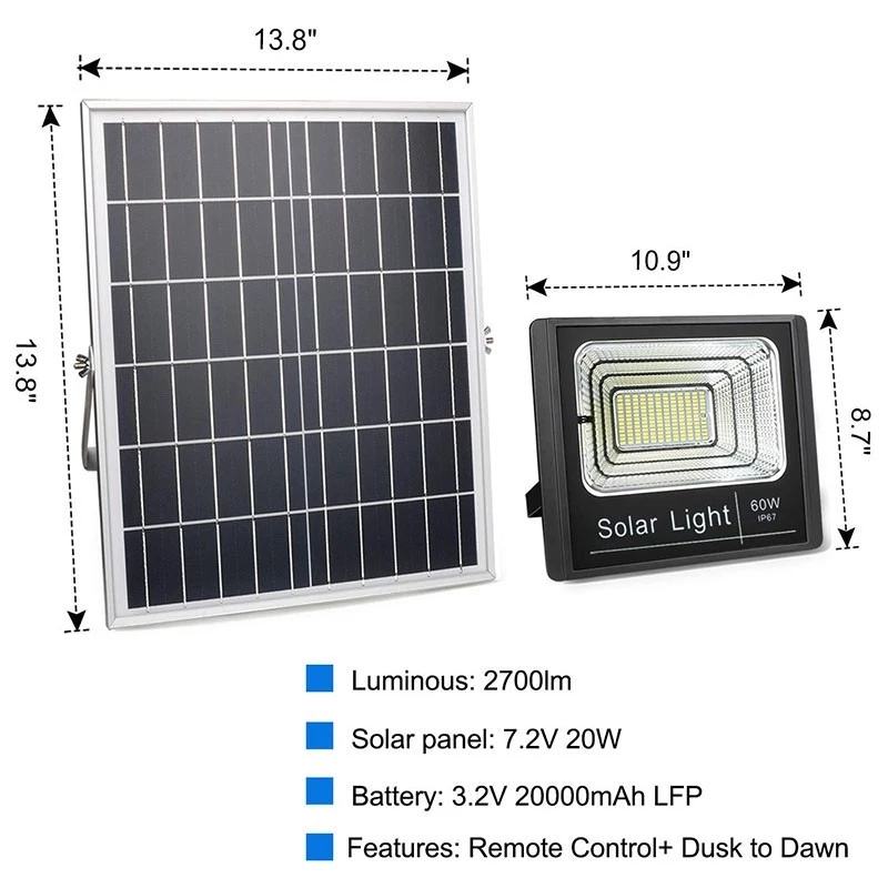 solar led flood light remote control inquire now for barn-8