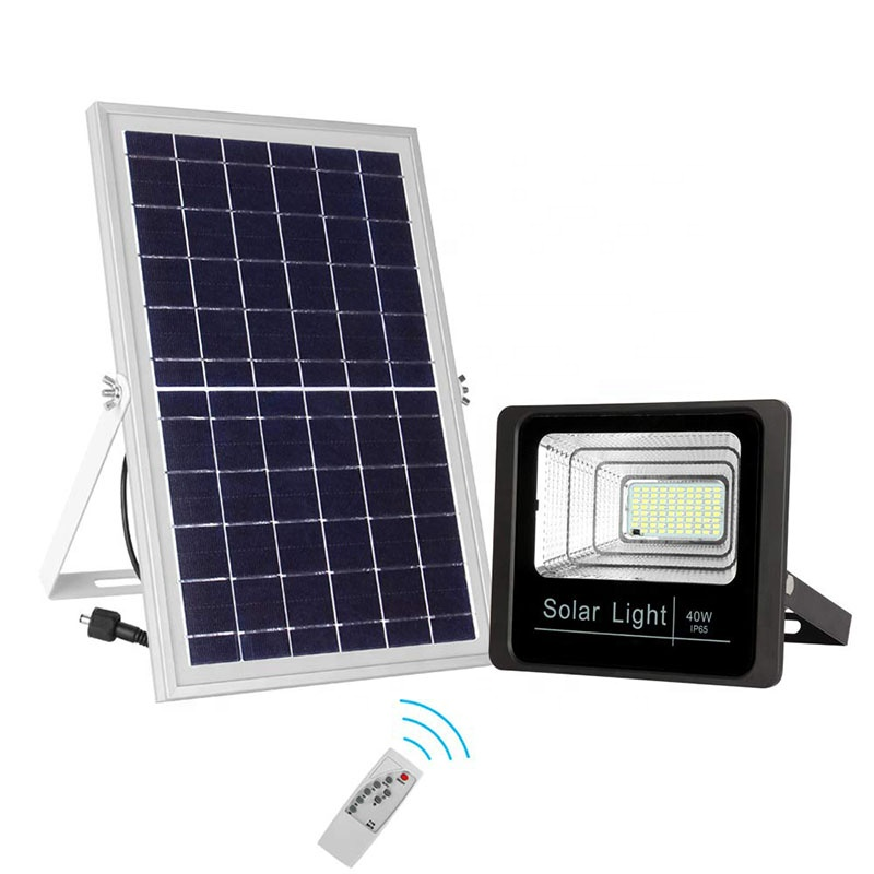 solar led flood light remote control inquire now for barn-9