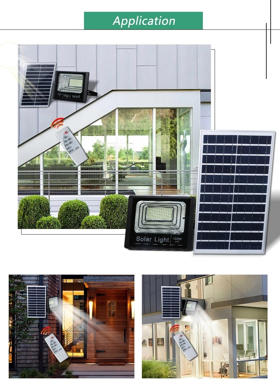 solar led flood light remote control inquire now for barn-14