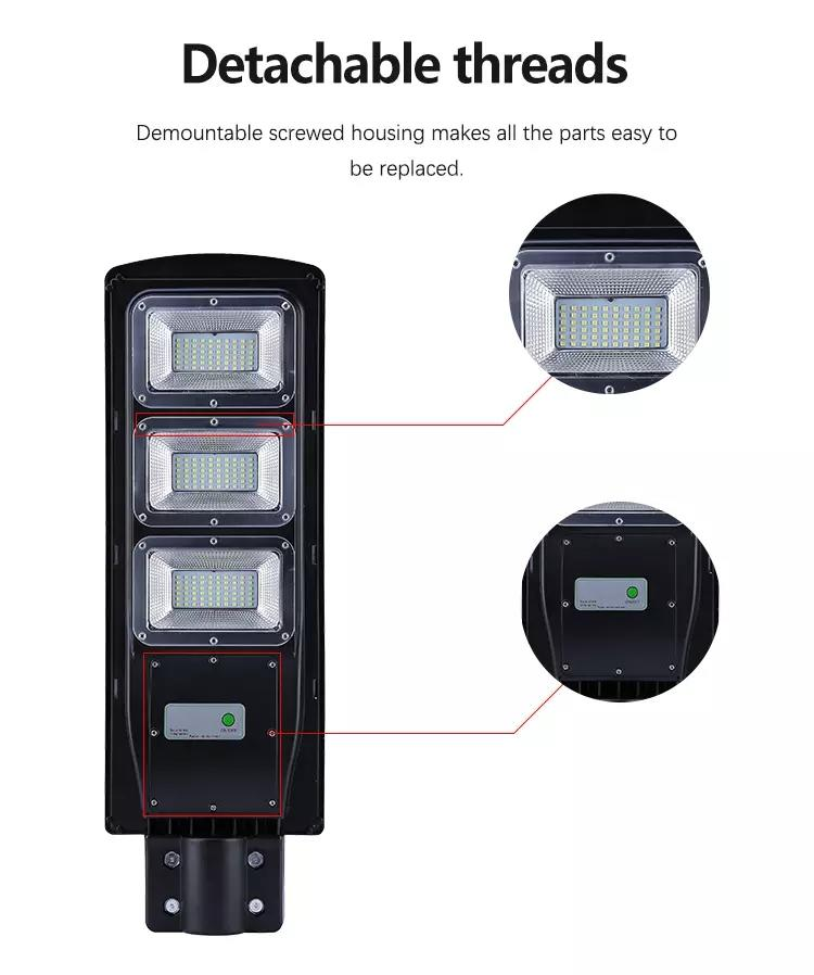 customize solar led street light now remote