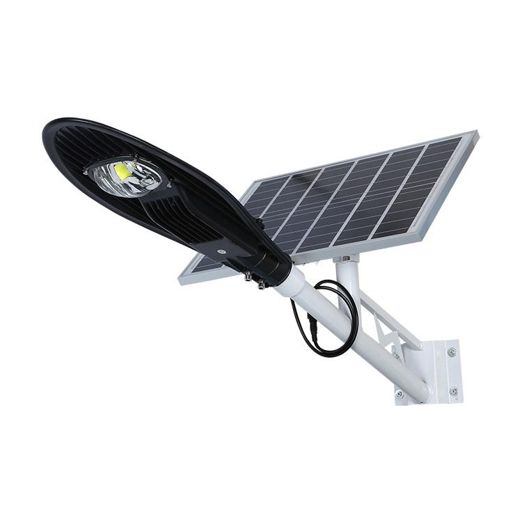COB high brightness 20w 30w 60w 100w 150w solar LED street light
