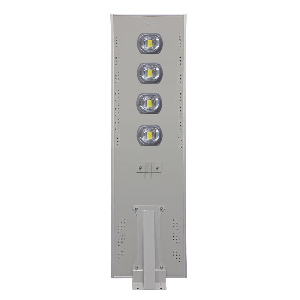 High lumen IP65 COB 40W  60W 80W 100w 120w aluminum housing all in one solar street light,customize acceptable