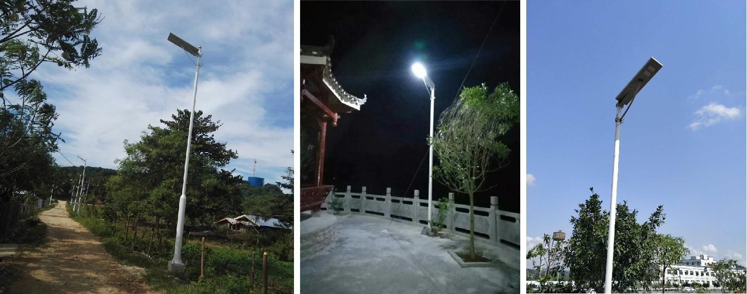 housing all in one solar street light price now remote