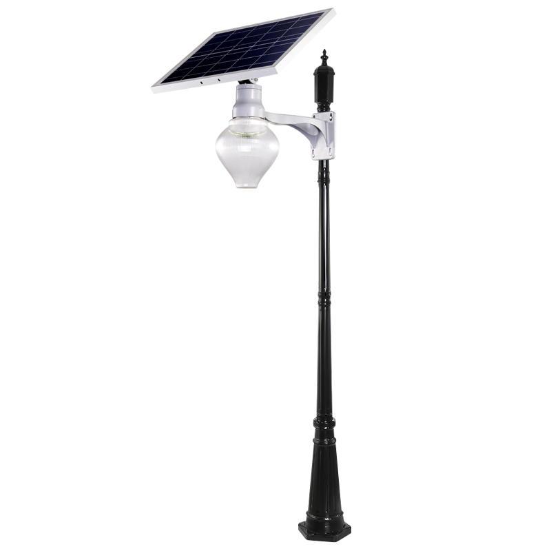 IP65 15W outdoor solar powered decoration garden peach type led solar light