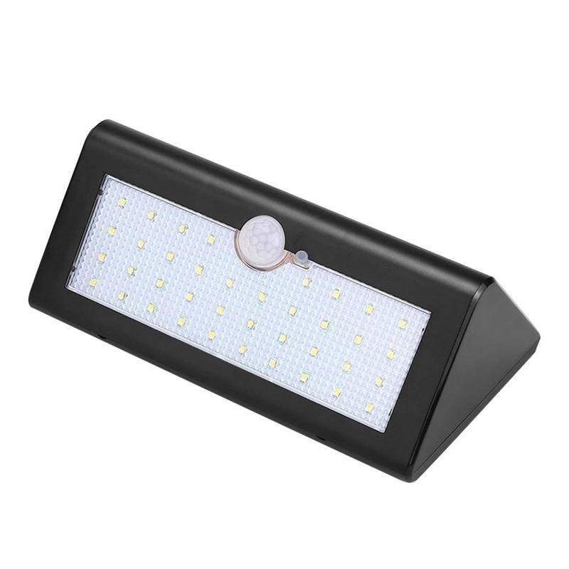 High Bright Solar Lights Motion Sensor Outdoor Light 38 LED Wall Bright Lamp