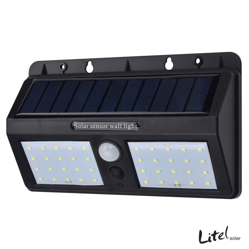 40 LED High Powerful Led Solar Bright Sensor Motion Wall Light For Garden
