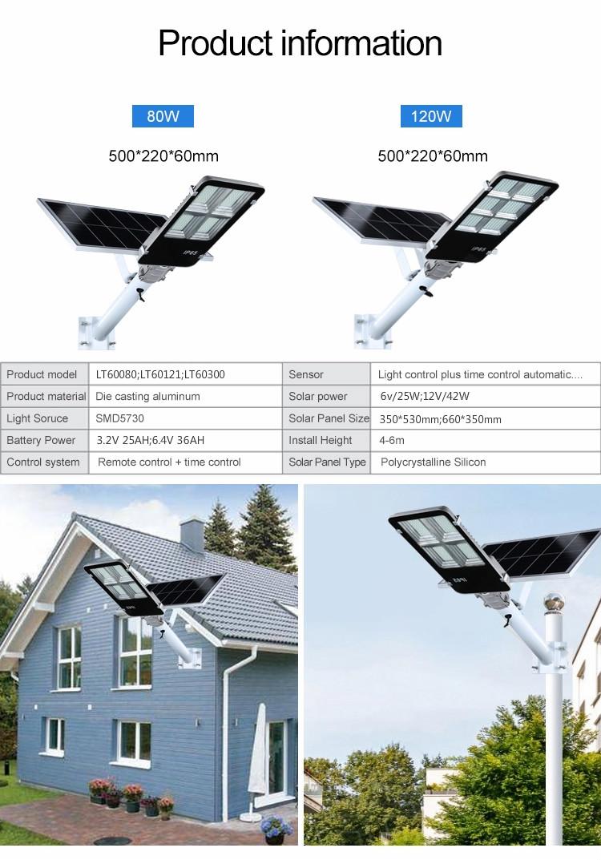Litel Technology popular solar street lighting system by bulk for barn-4