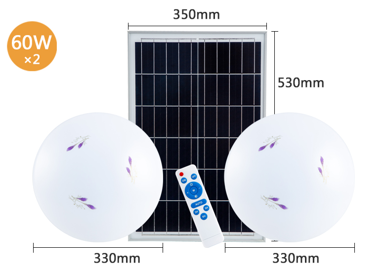 at discount solar ceiling light low cost ODM for high way-14