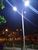 Peru ABS all in one solar street light project in park