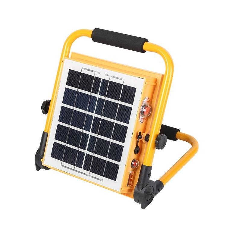 Portable fishing garden IP65 outdoor 50w 100w solar spot/flood light