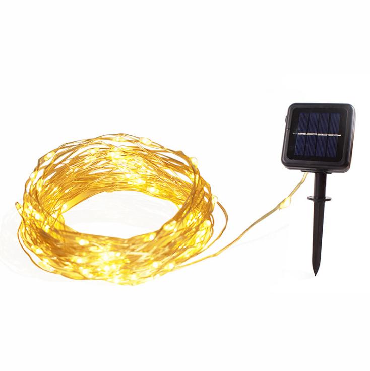 Battery Operated Lights Solar Power Led String Light For Christmas