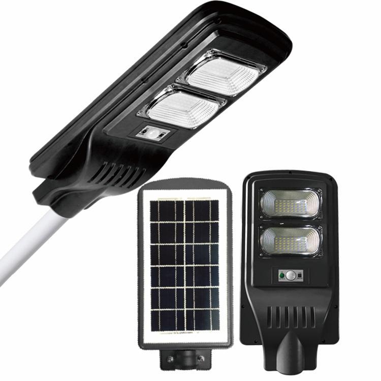 ABS All in one Light&RADAR PIR sensor+remote control  IP65 30W 60W 90W solar street light