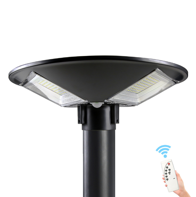 UFO Motion Sensor All in one Solar Garden Street Light With Remote Control