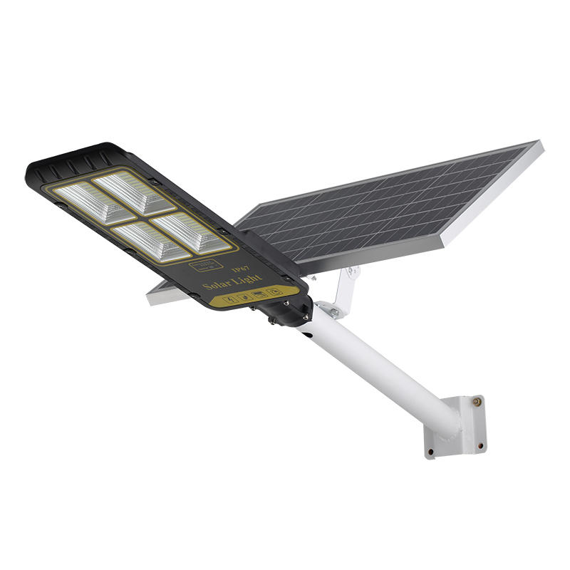 Radar motion sensor 300w 400w split solar street light