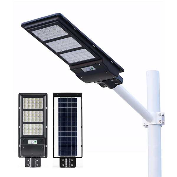 90W 120W 150W PIR motion sensor integrated all in one ABS solar street light
