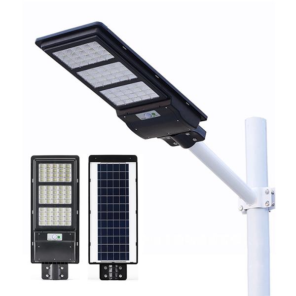 90W 120W 150W PIR motion sensor integrated all in one ABS solar street light