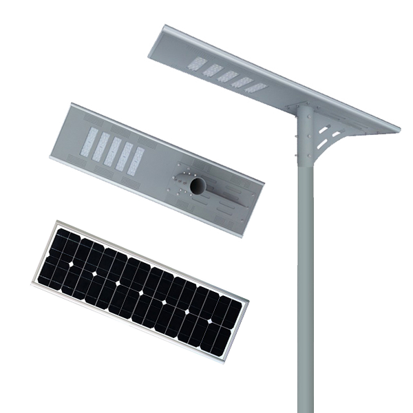 project MPPT controller A-graded aluminum integrated all in one solar street light