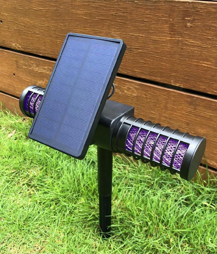 USB Powered UV LED Electronic Waterproof Solar Mosquito Killer Trap Lamp