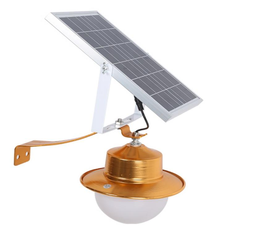 New design light control aluminum control ip65 50w solar led outdoor wall light