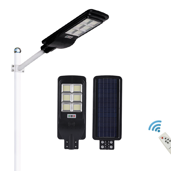 120W 150W 180W 200W A-type high brightness all in one solar street light
