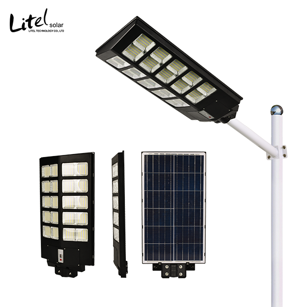 New design 160 wide angle solar street light 180w 240w 300w