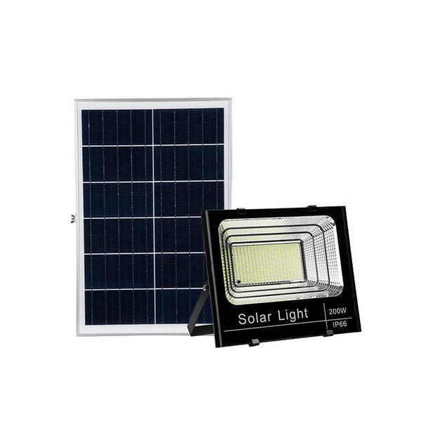 25wv 40w 60w 100w 200w 300w solar flood light with remote control