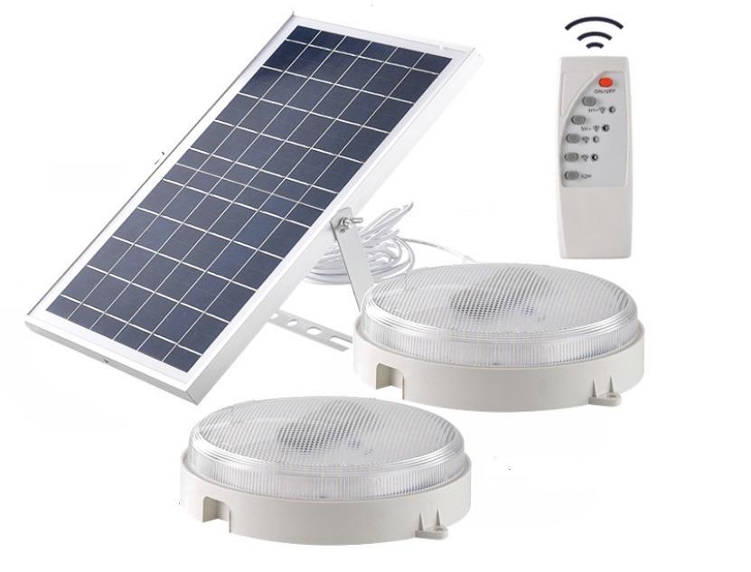 30w high brightness solar LED ceiling light