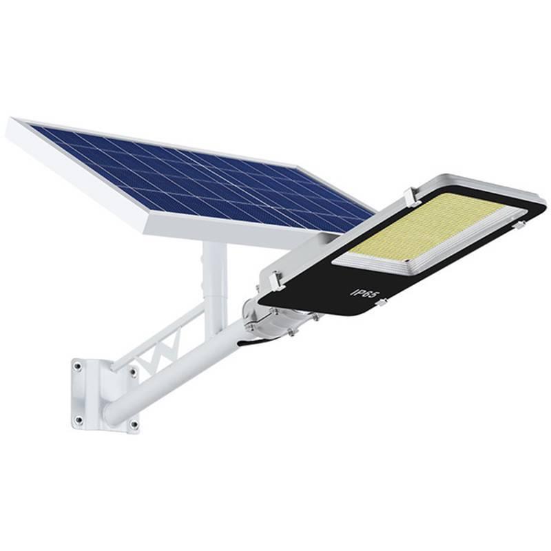 IP65 10w 20w 30w 50w 70w 100w 120w 150w 200w Light sensor and remote control solar LED street Light