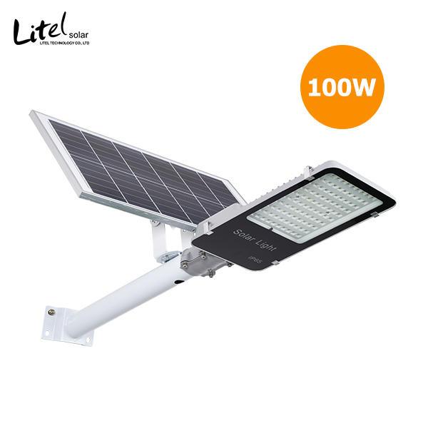 Nano type 50w 60w 100w high 3030 high brightness project split solar street light