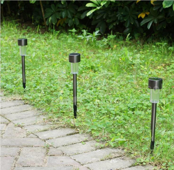 Outdoor  Pathway spike stake Mini solar Lawn Light