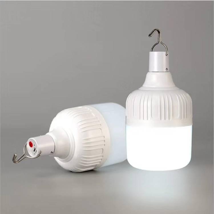 Indoor Solar LED bulb rechargeable portable Solar Emergency Bulb