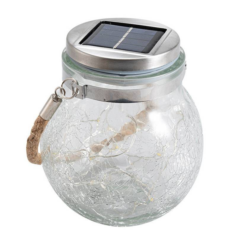 2-in-1 Outdoor Hanging Solar Lanterns Lights for Patio Deck Yard Decor