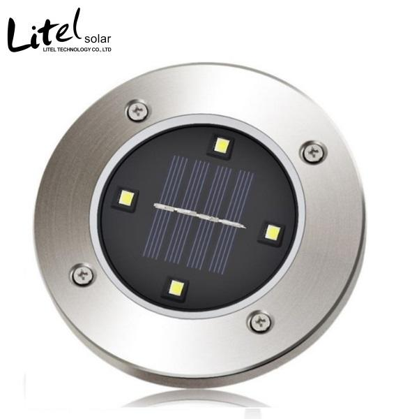 outdoor 8 led Solar Ground Lights for Pathway, Yard, Deck, Patio, Walkway