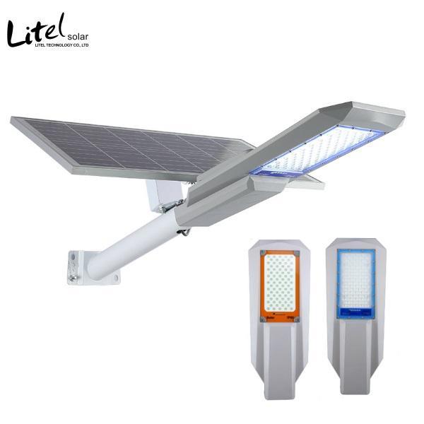 Powerful Bright 100W 200W 300W LED Solar Street Light Road Parking Yard Lamp