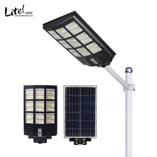 New design 160 wide angle solar street light 100w 200w 300w